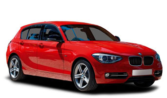 rent a BMW 116i in greece