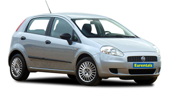 rent a Fiat Grande Punto in greece
