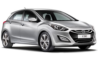 rent a Hyundai i30 in greece