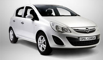 rent a Opel Corsa Automatic in greece