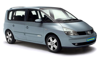 rent a Renault Espace in greece