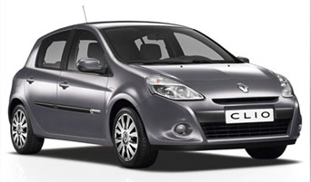 rent a Renault Clio Automatic in greece